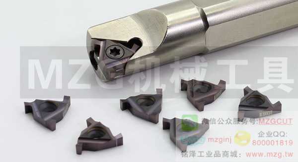 MZG品牌数控刀具,平装三角型切槽刀片图片价格