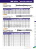 2015K42MZG品牌螺旋焊刃式钨钢机械铰刀,焊刃式钨钢铰刀SWRI,SWM,SWMT图片价格