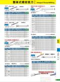 2015L02MZG品牌整体硬质合金螺纹铣刀,整体钨钢涂层螺纹铣刀图片价格