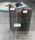 MZG机械工具检测用磨床配件磁性V型台图片价格